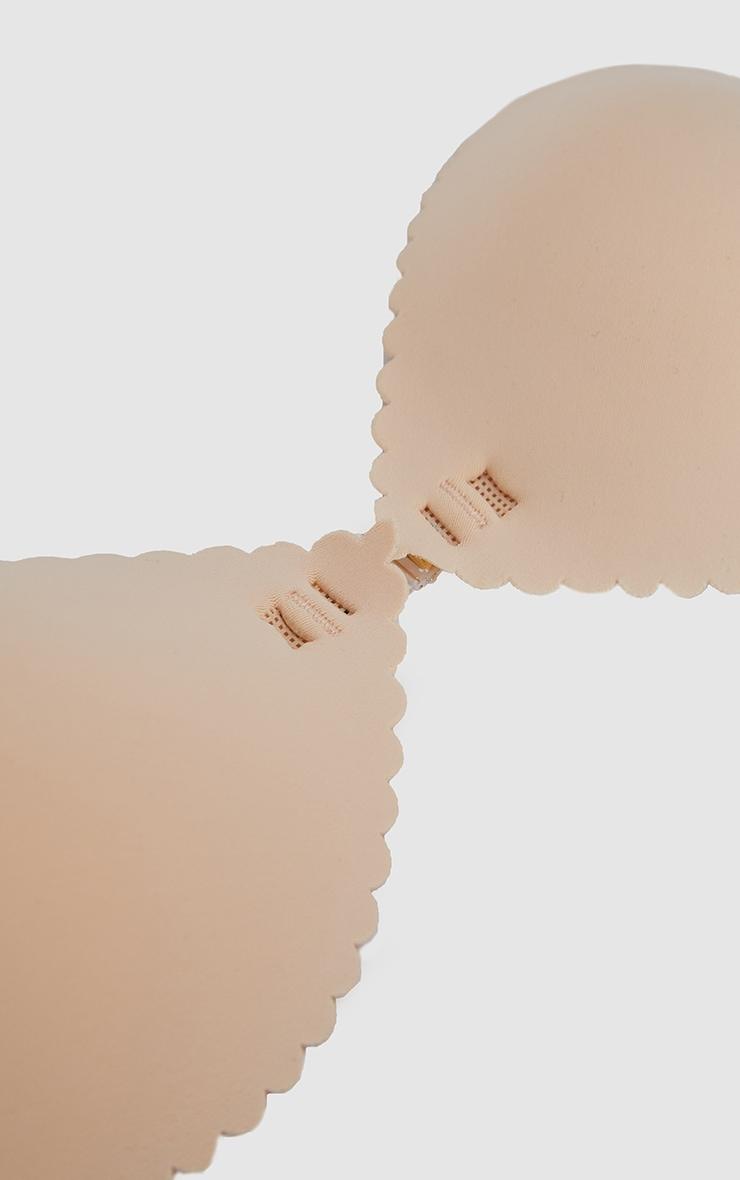 Nude Scallop Super Light Stick On Bra  6