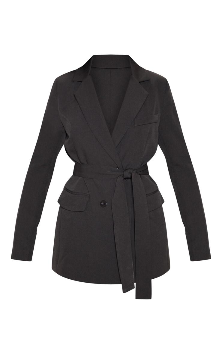 Rebecca Black Belted Blazer 3