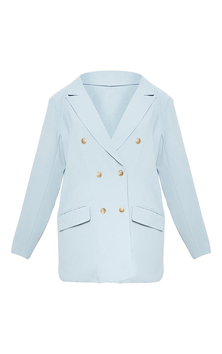 Petite Dark Mint Tailored Blazer 3