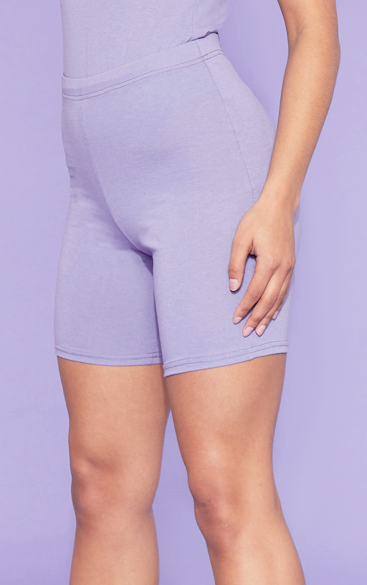 RECYCLE Violet Bike Shorts 5