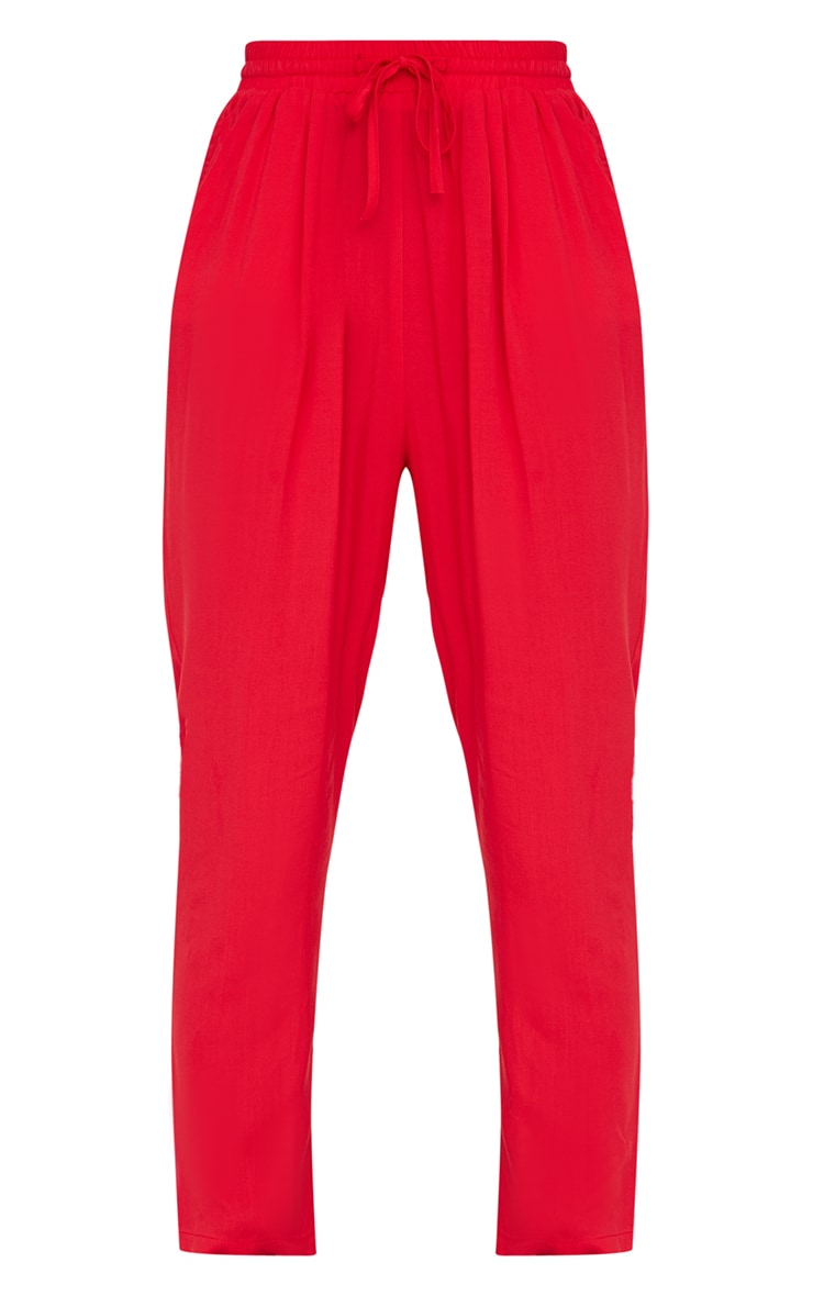 Red Casual Trousers 3