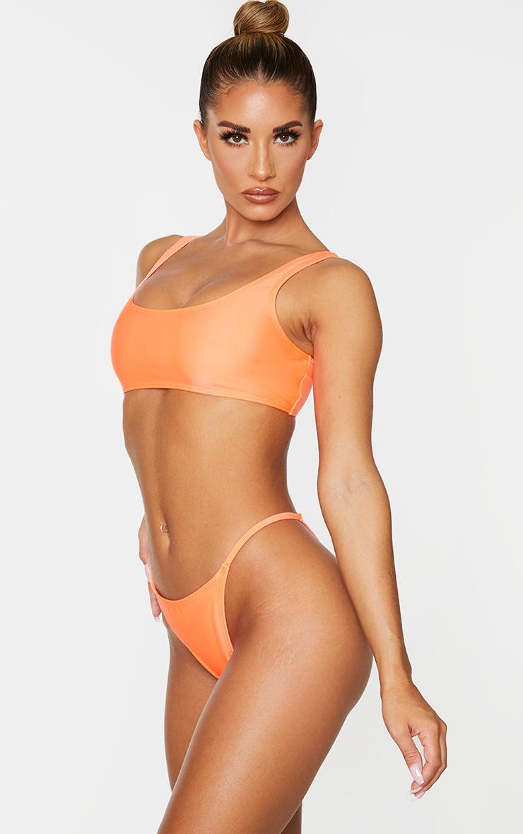 Coral Mix & Match Itsy Bitsy Bikini Bottom 2