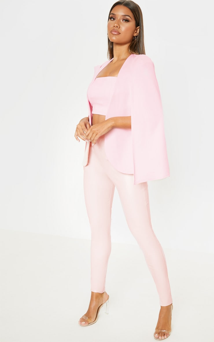 Pink Cape Blazer 4