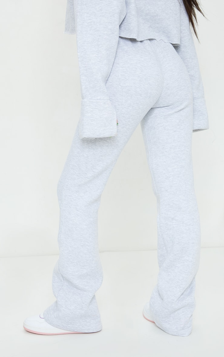 Grey Flared Leg Joggers 3