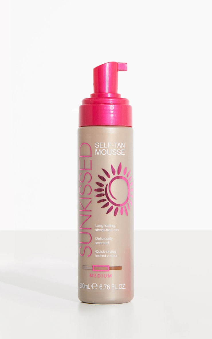 Sunkissed Medium Self-Tan Mousse 1