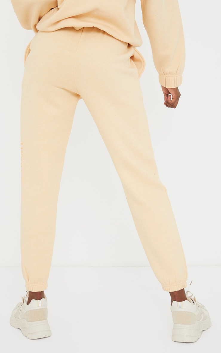 PRETTYLITTLETHING Tall Stone Copyright Joggers 3