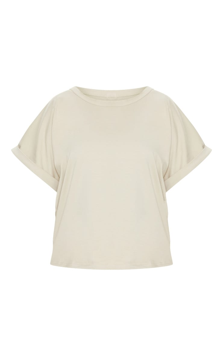Sand Low Arm T Shirt 3