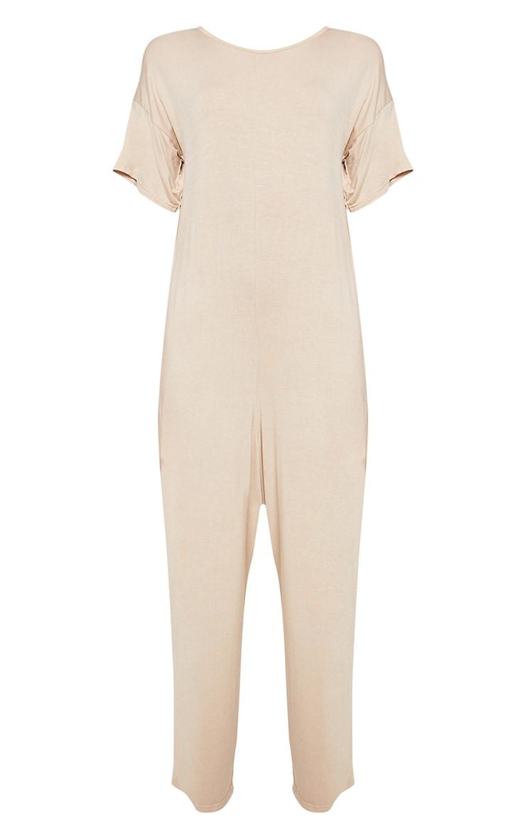 Nude Oversized T Shirt Culotte Jumpsuit 3