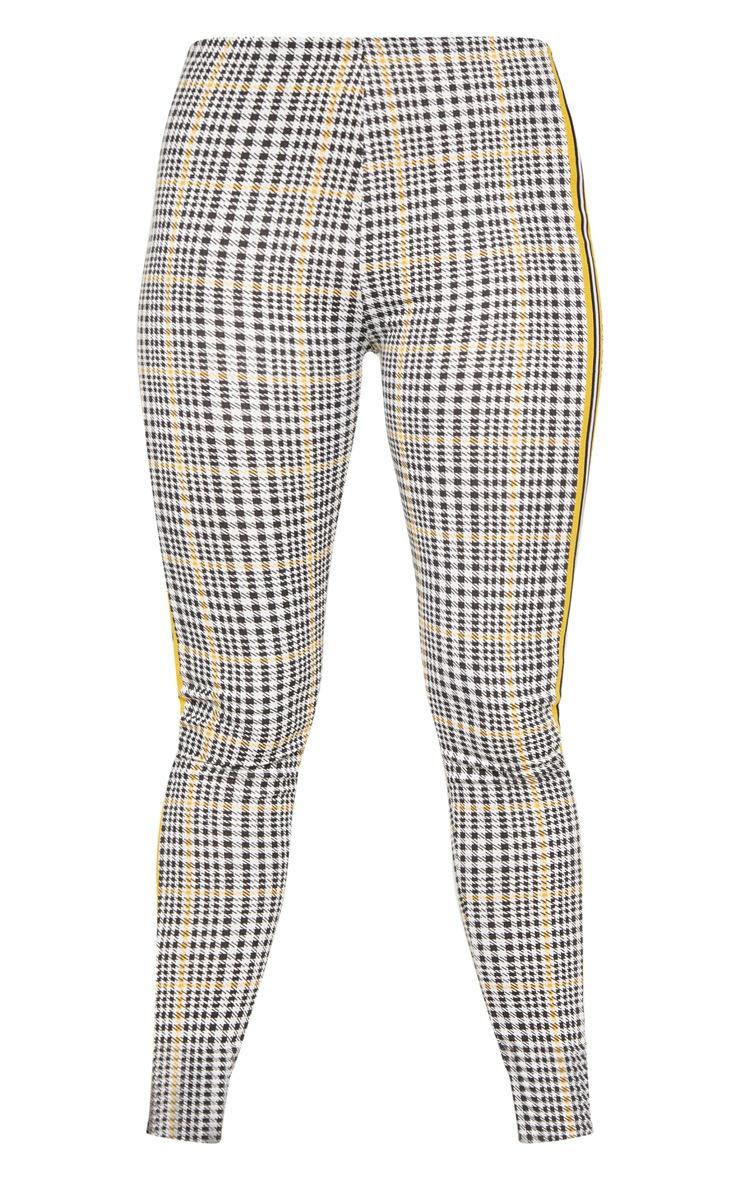 Mustard Check Sport Stripe Legging 6