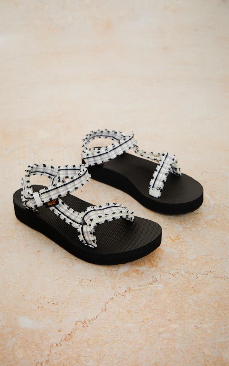TEVA - Sandales noires et blanches - Midform Fray 2
