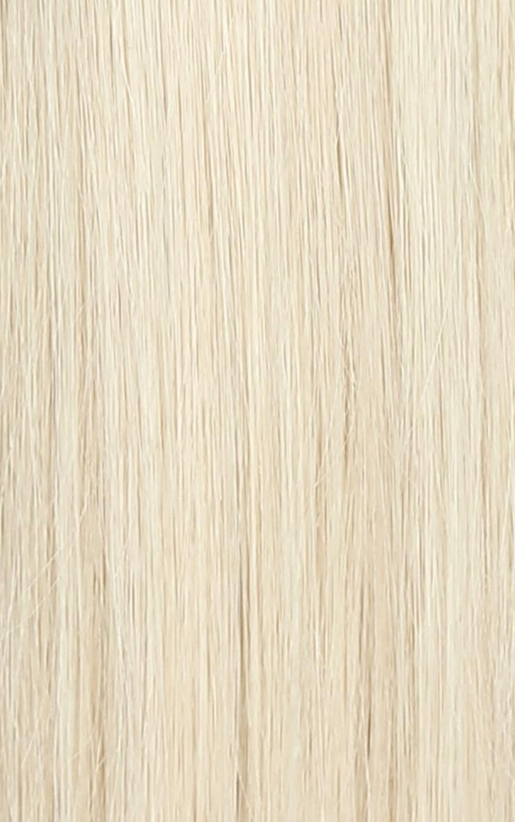 Beauty Works Double Hair Set Weft 18 Inch Pure Platinum 50 Grams 2