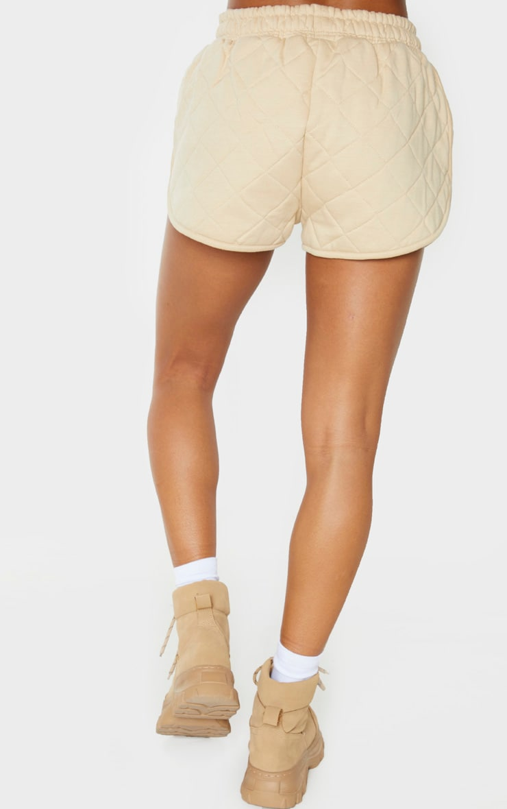 Stone Quilted Runner Short 4