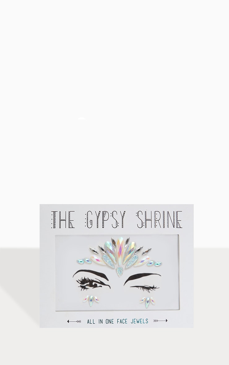The Gypsy Shrine Iridescent Glitz Face Jewel 1