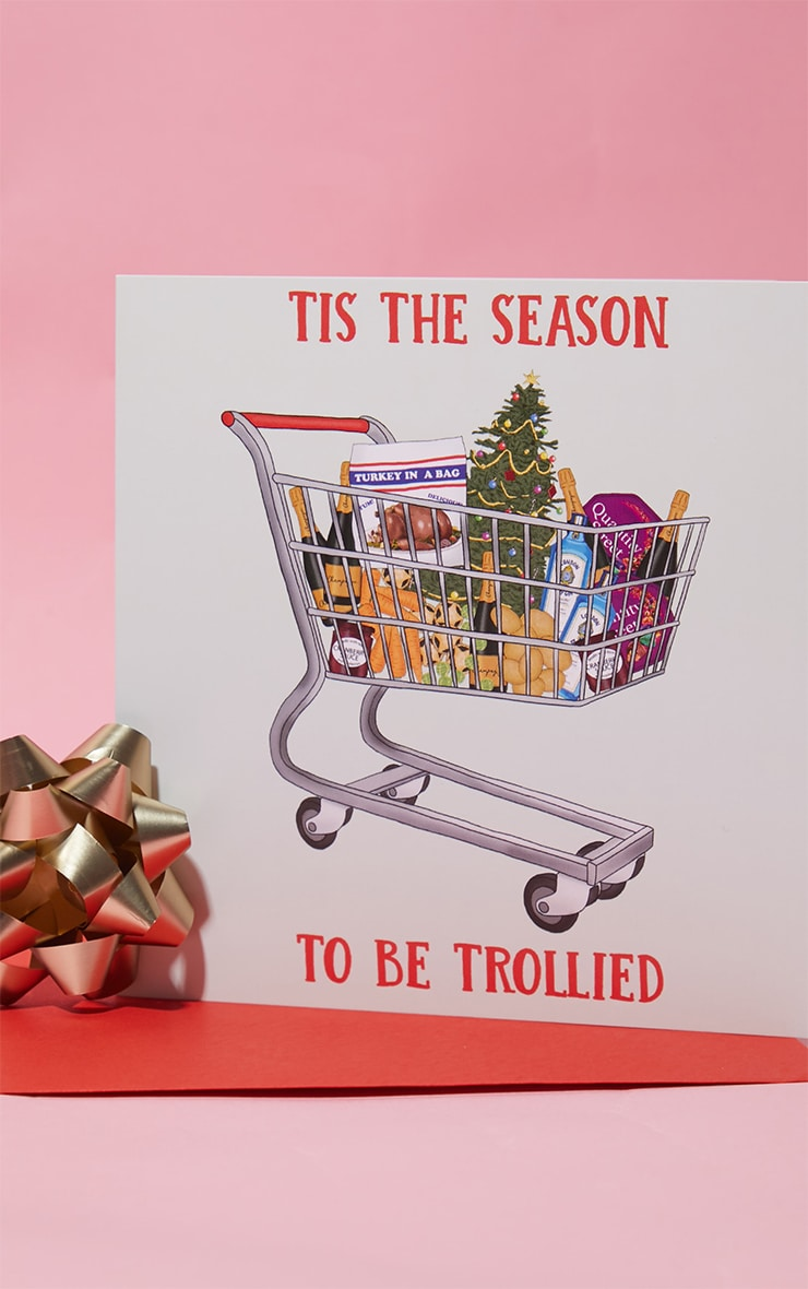 Central 23 Season To Get Trollied Christmas Card 3