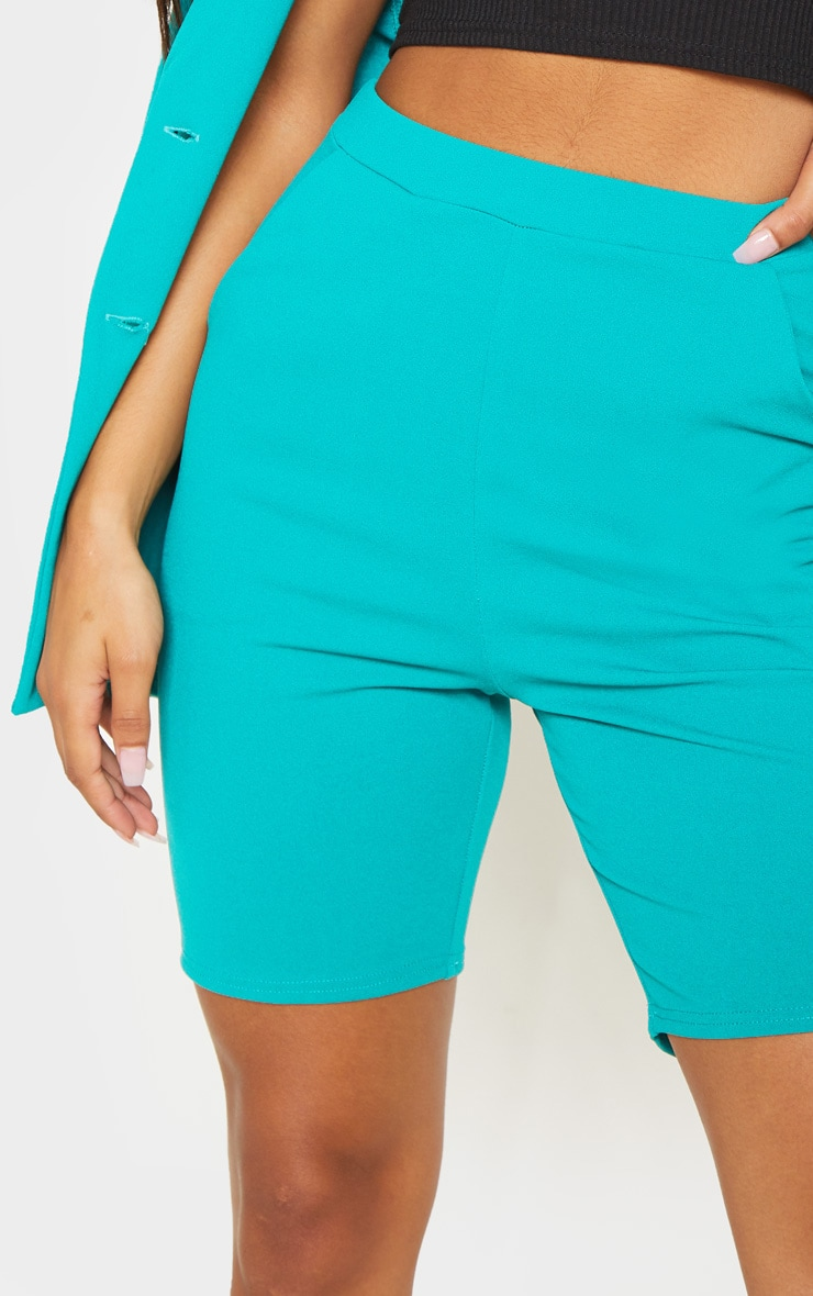 Teal Cycling Suit Shorts  5