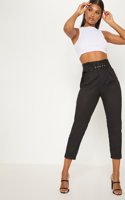 6c2696f57b46ce Women's Tailored Trousers | Tapered Trousers | PrettyLittleThing