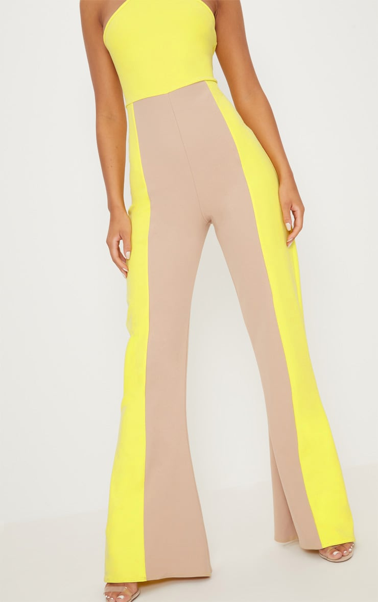 Yellow Colour Block Jumpsuit 5