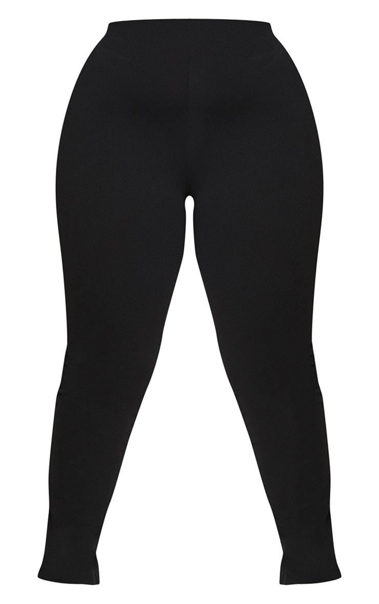 PLT Plus - Pantalon slim en crêpe noir 5
