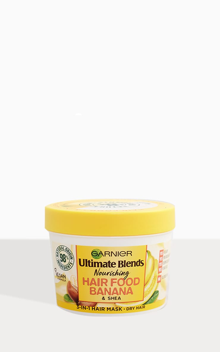 Garnier Ultimate Blends Hair Food Banana 3-in-1 Dry Hair Mask 2