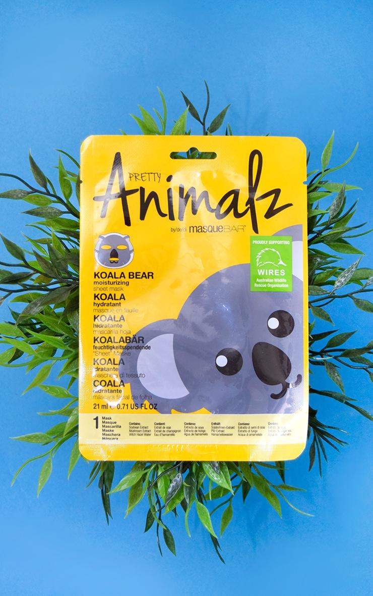 MasqueBAR Animalz Koala Bear Sheet Mask 1
