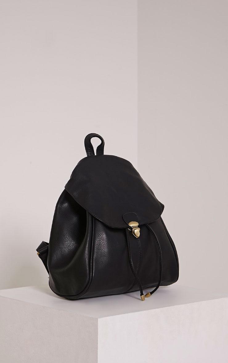 Sabria Black Backpack 3