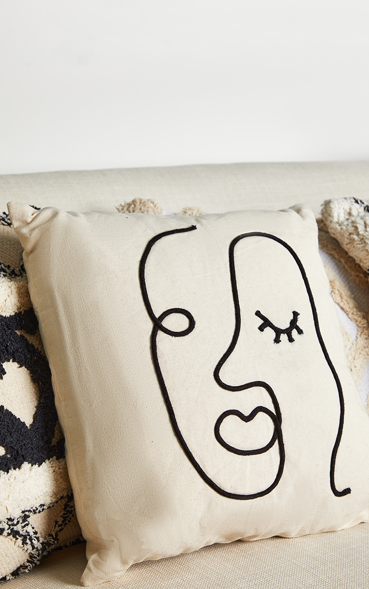 Abstract Face Cushion 2