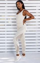 Oatmeal Seamless Cut Out All In One 1