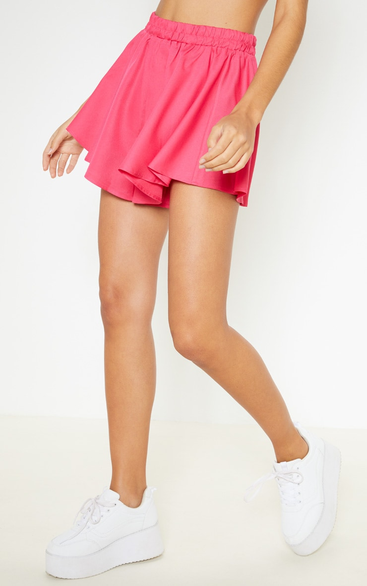Hot Pink Floaty Shorts 2