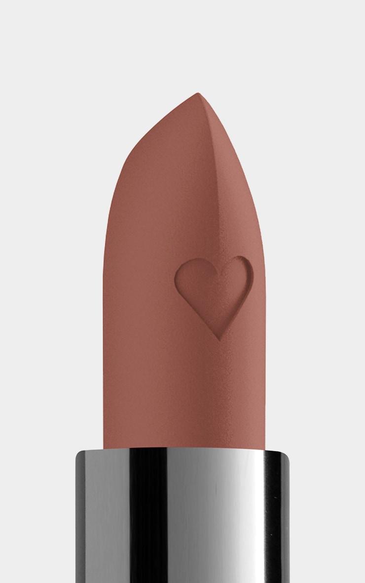 NYX PMU Shout Loud Satin Lipstick Honey Brown Cali 3