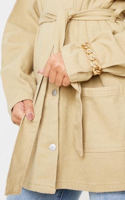 Gold Chunky Chain T Bar Bracelet