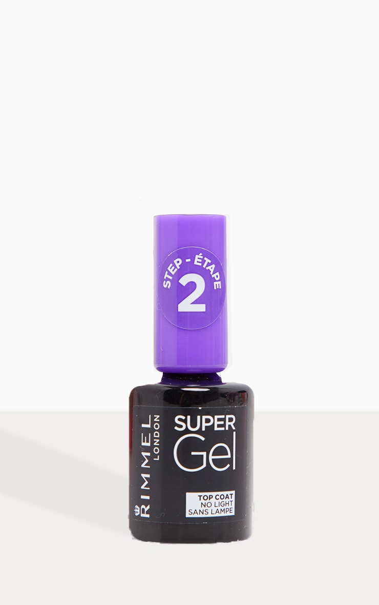Rimmel Super Gel Nail Polish Top Coat 2