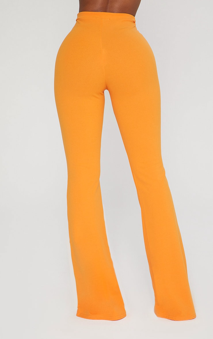 Shape Tangerine Lion Trim Wide Leg Trousers 4