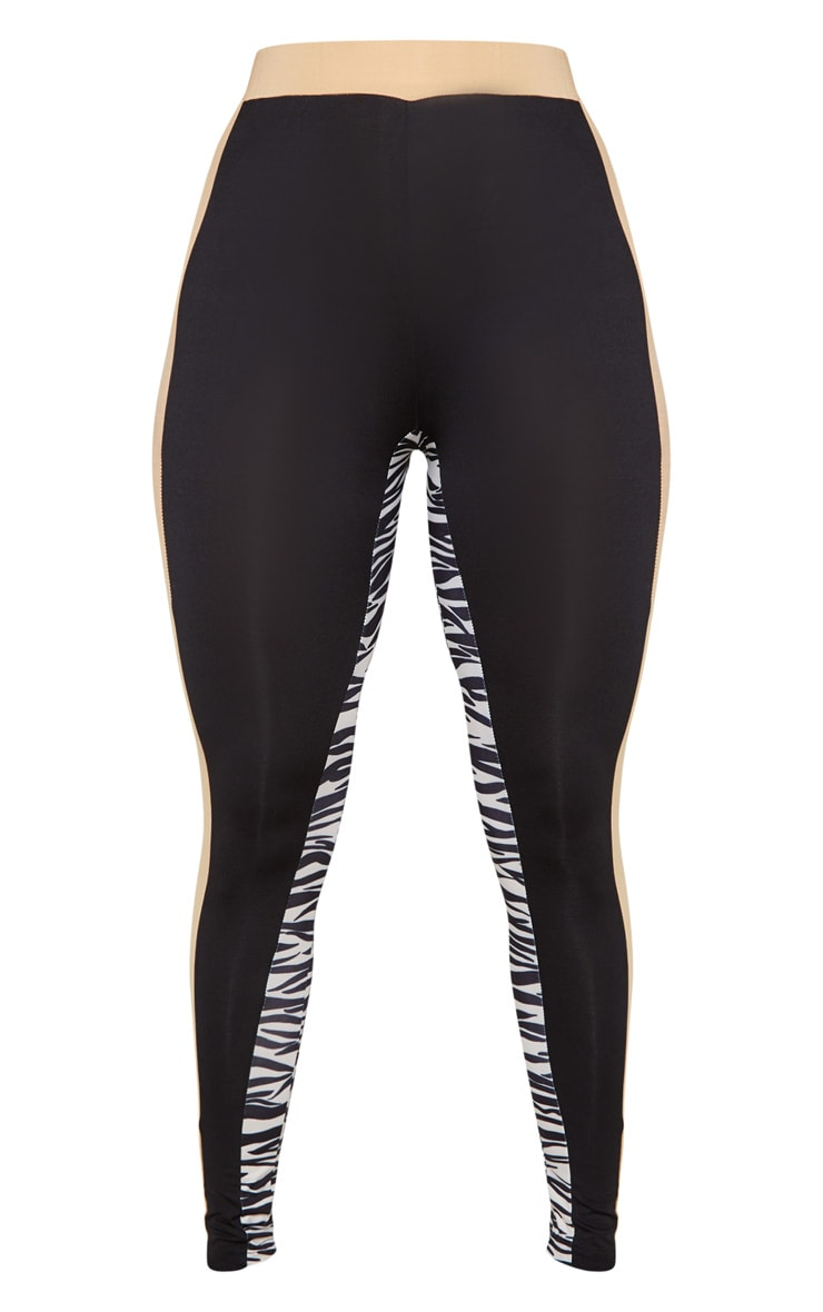 PRETTYLITTLETHING 3 Tone Gym Legging 3