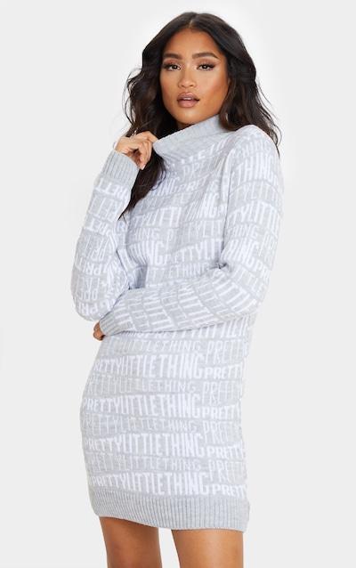 Jumper Dress Wool Amp Knitted Dresses Prettylittlething Aus