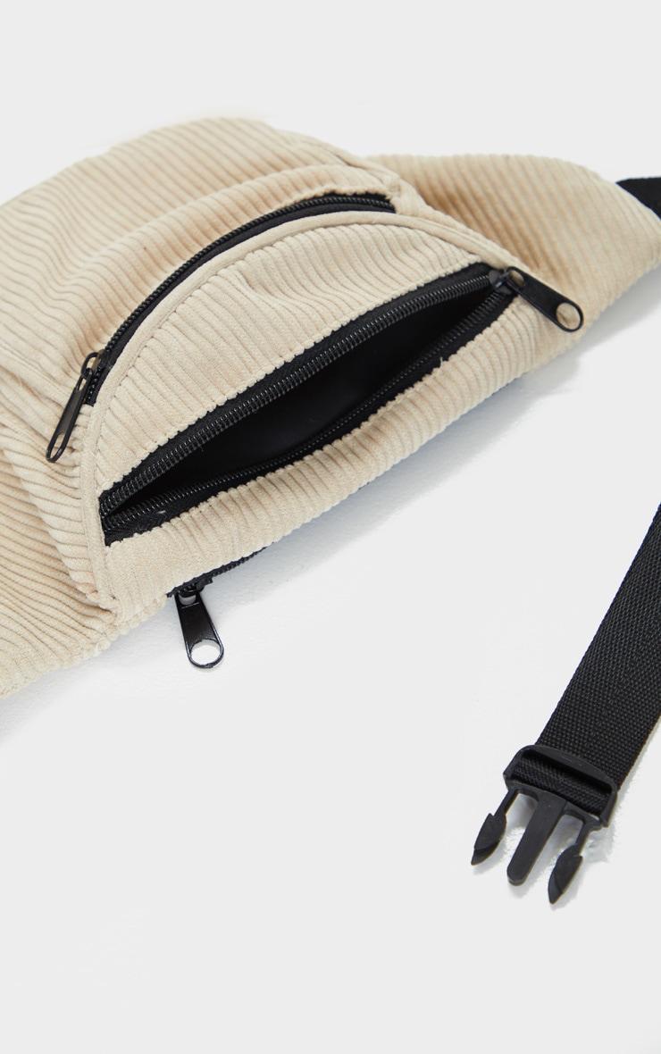 Camel Cord Pocket Front Bum Bag 2