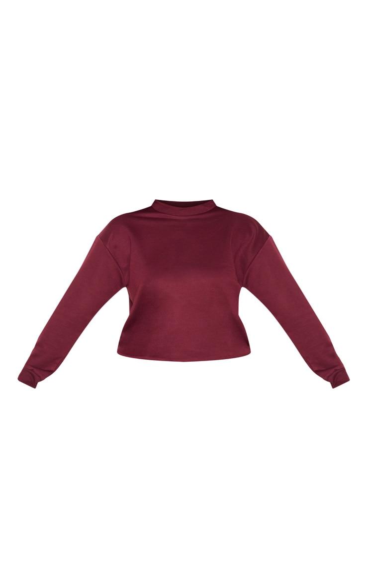 Plus Burgundy Sweater 3