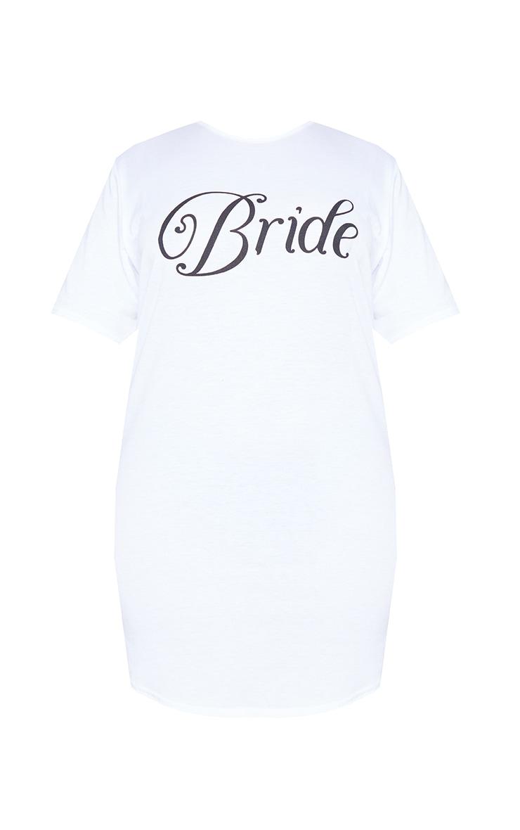 Plus Bride White Nightie 5
