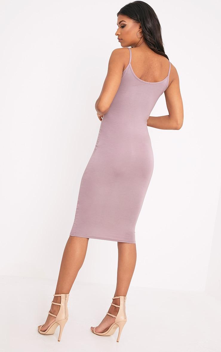 Basic Truffle Midi Vest Dress  2