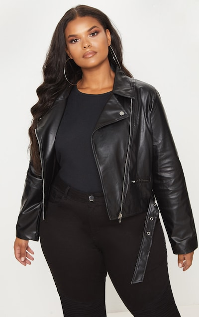 Women's Plus Size Jackets: Biker, Bomber & Leather Jackets