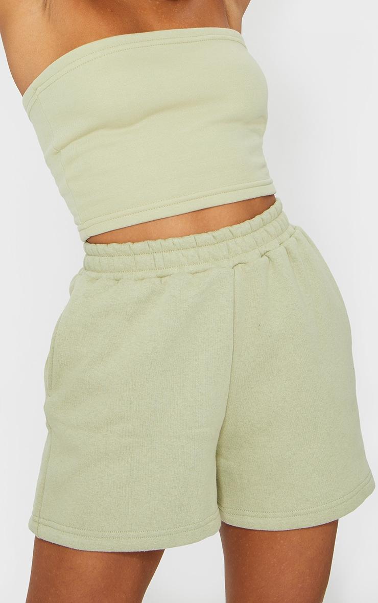 Sage Sweat Pocket Shorts 5
