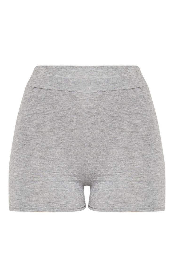 Basic short taille haute gris 3