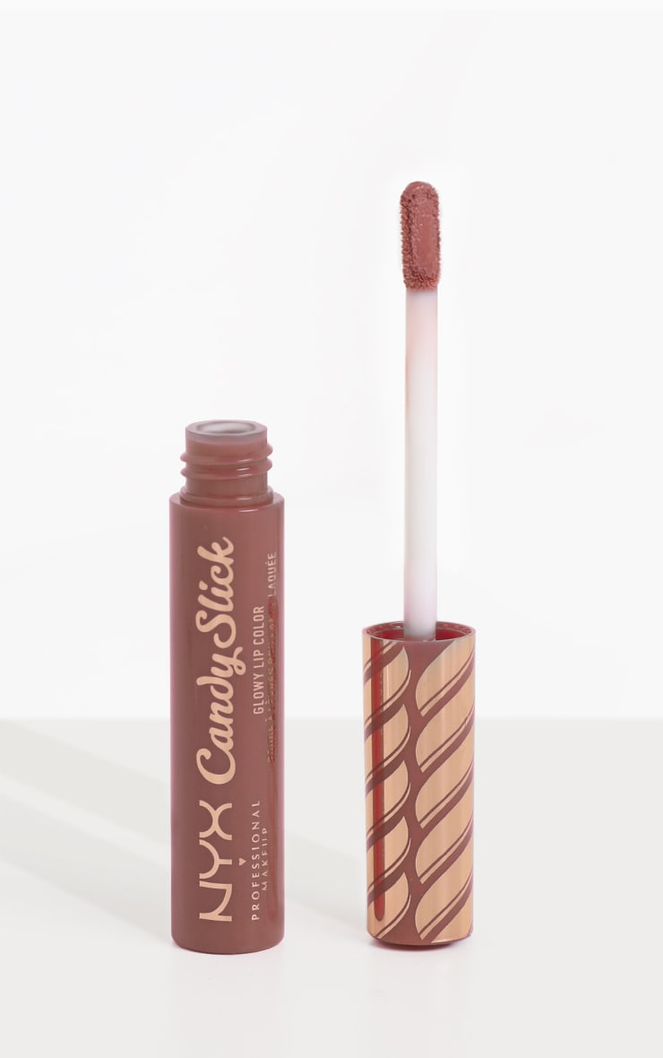 NYX Professional Makeup Candy Slick Glowy Lip Colour S'more Please 2