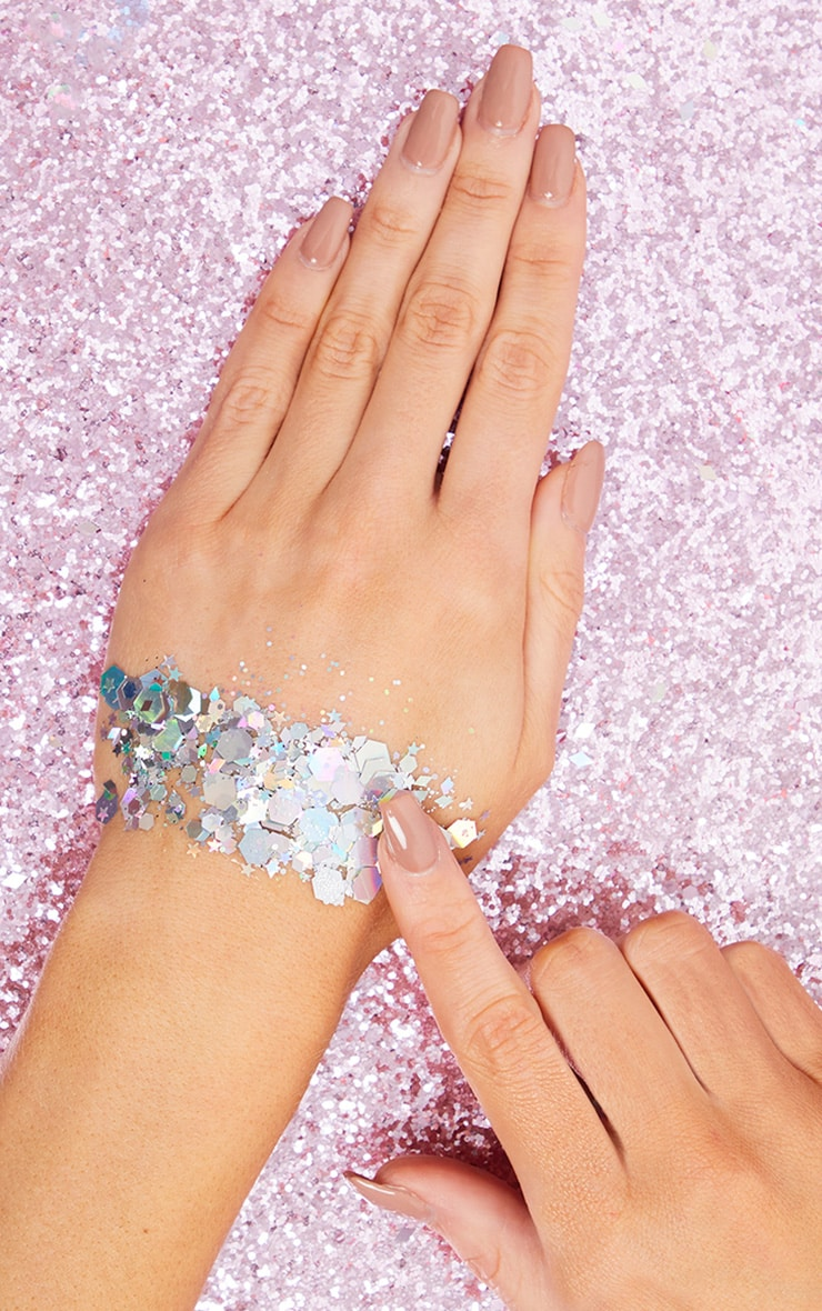 The Gypsy Shrine Chunky Silver Glitter Bag 2