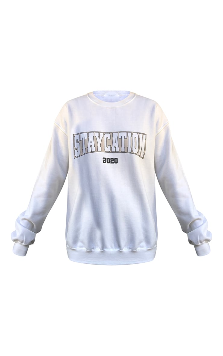 Ecru Staycation 2020 Printed Sweatshirt 5