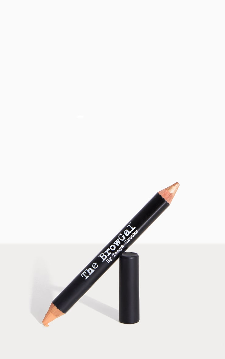 The BrowGal Highlighter Pencil 02 Gold Nude