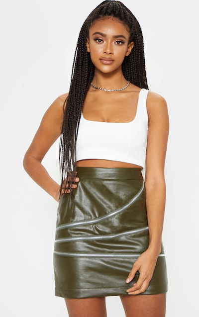 e90651422ad6 Faux Leather Skirts | Pleather & Leather Skirts | PrettyLittleThing IE