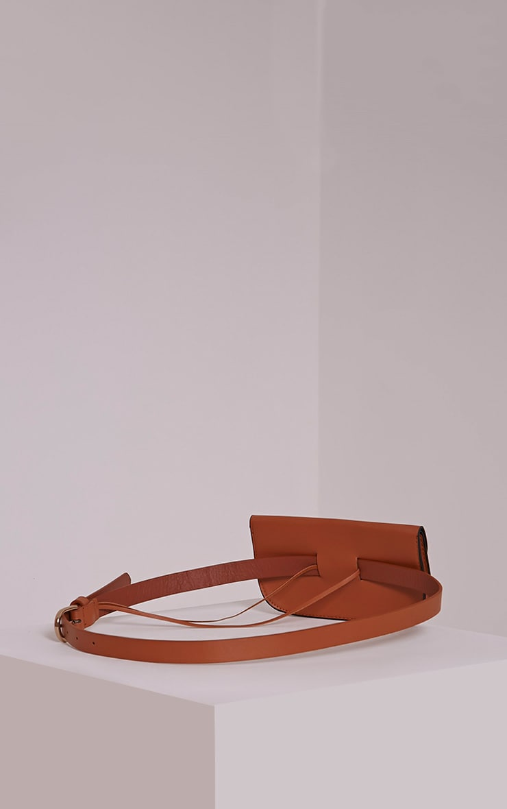 Brady Tan Purse Belt 4