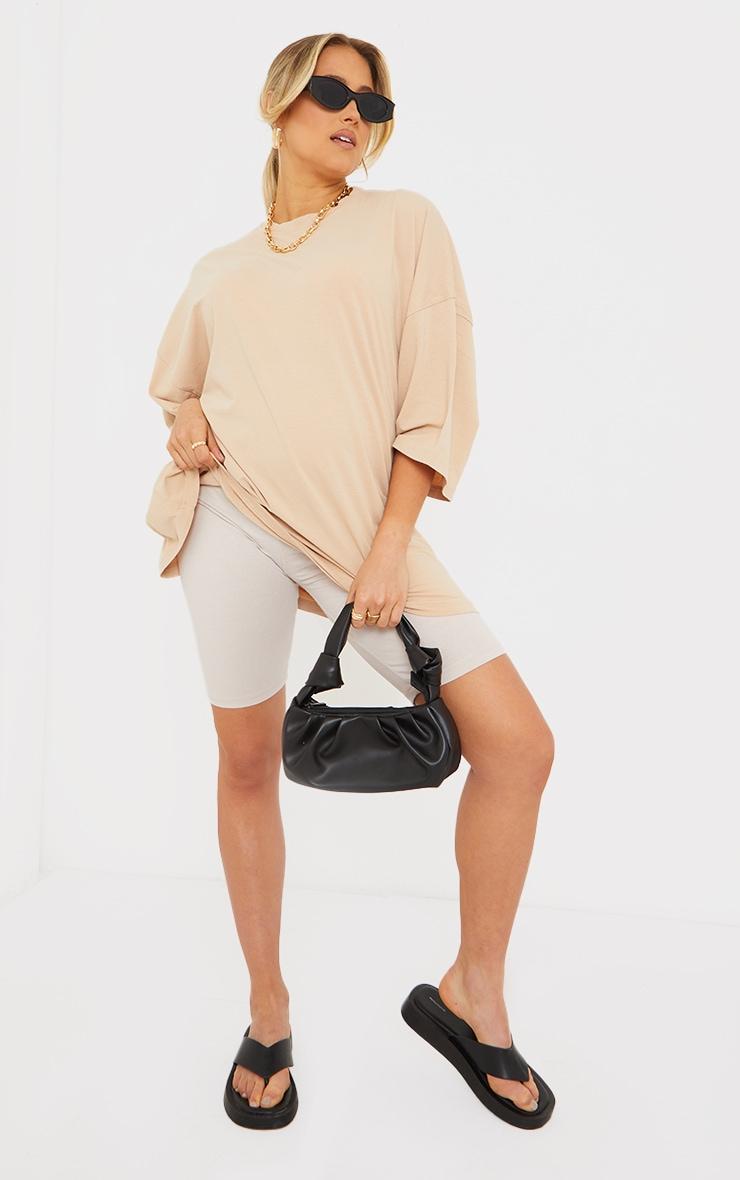 Maternity Stone Oversized Washed Cotton T-Shirt 3