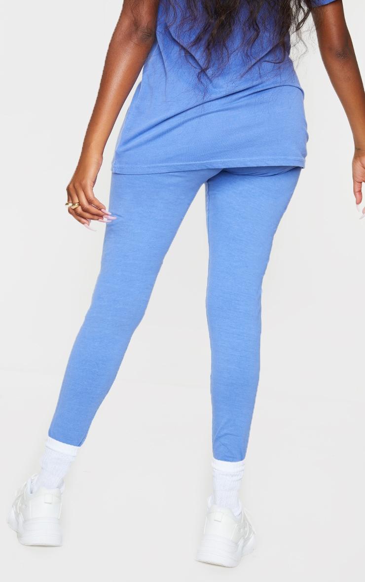 Blue Washed Leggings 3