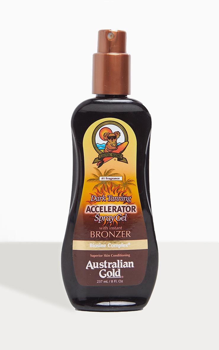 Australian Gold Tan Accelerator Spray Gel with Bronzer 1